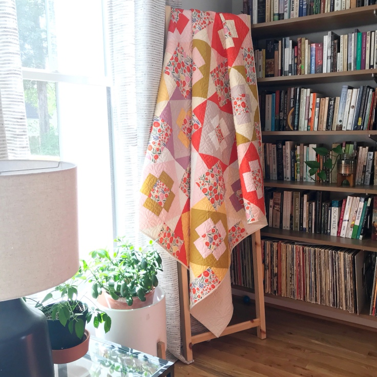 Floral Meadowland Quilt